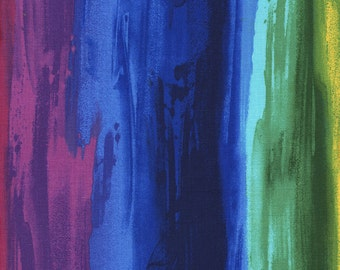 1/2 Yard Timeless Treasure Radiance Painterly Stripes C5133