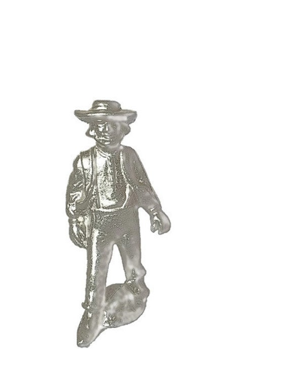 Wilton Armetale Pewter Amish Figurines Man and Woman | Pilgrams | Dutch | Amish | Early Settlers