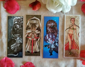 Star Wars Bookmarks - Print
