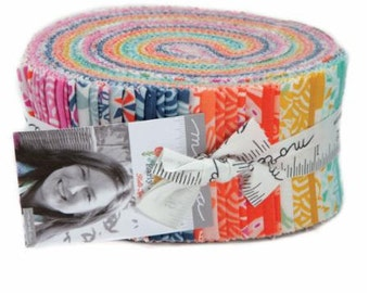 "Early Bird by Kate Spain for Moda Fabrics JellyRoll (2.5"" x WOF strips)"