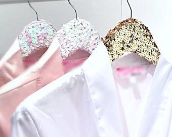 Wedding Hanger, Bride Hanger, Hanger For Wedding Dress, Hangers, Sequin Hanger, Pink Hanger, Gold Sequin Hanger, Silver Sequin Hanger
