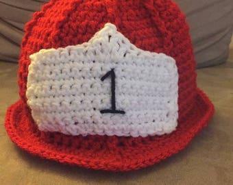Adult Fireman Hat