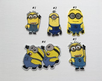 Minions Embroidered Patches