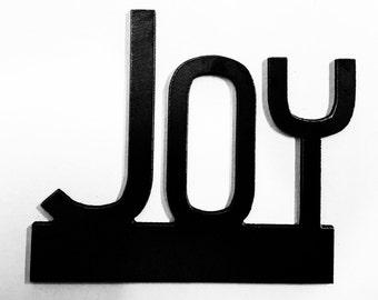 JOY, word art,METAL ART, metal decor, home decor, metal wall sculptures, wall decor,