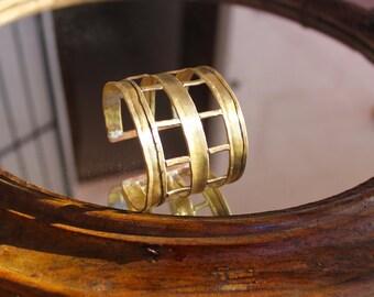 Bracelet three strips