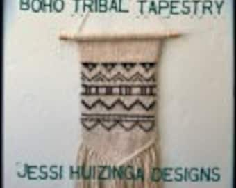 Boho Tribal Tapestry Knitting Pattern