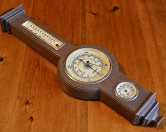 Vintage USA Made Springfield Weather Station