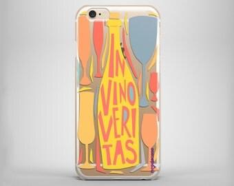 IN VINO VERITAS iPhone 6s case, iPhone 6 case, iPhone 6s clear case, iPhone 6 clear case, iPhone 7 case, iPhone 7 clear case, iPhone case