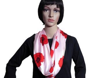 Infinity scarf - Poppy Fields