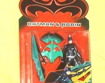 "BATMAN & ROBIN, BATGIRL, 4 3/4"" Action Figure, by Kenner, '97, Mint on C7- Card"