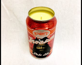 Pineapple Coconut Scent Beer Can CANdle