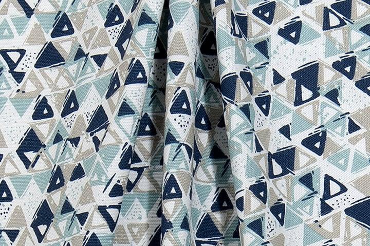 Home Decor Fabrics By The Yard: Designer Home Decor Fabric Blues & Grey Fabric By The Yard