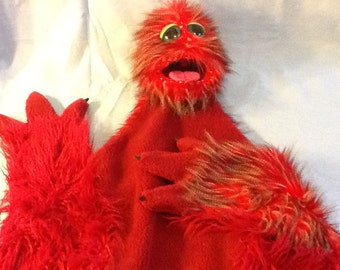 """Professional Puppet """"Big Red"""" Live Hand Character!"""