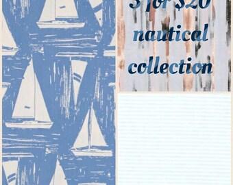Nautical Collection Bandana Bibs