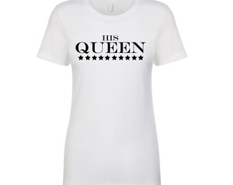 Impact2Empower His Queen Boyfriend T-Shirt