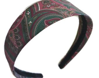 Paisley VINTAGE retro headband