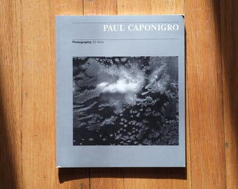 Photography: 25 Years by Paul Caponigro Signed Second Edition 1981 of 6000