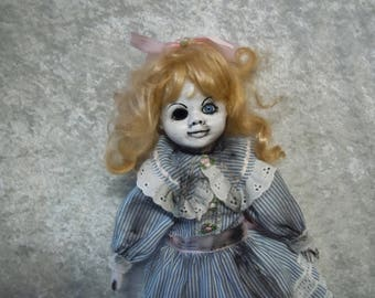 One Eyed Dirty Creepy Doll