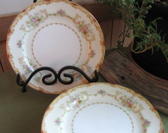 Noritake Salad Plate Vintage Dinnerware and Replacements Seven (7) Small Plates circa 1930s