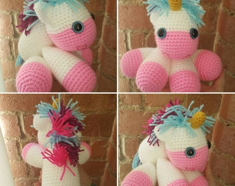 Unicorn Teddy - Stuffed Animal - Unicorn Plush - Stuffed Toy Unicorn - Toddler Toy - Stuffed Rainbow Unicorn - Stuffed Unicorn Toy unicorn