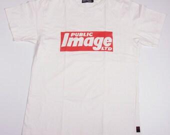 Vintage Public Image LTD PIL John Lydon 80s Post Punk Band Tshirt