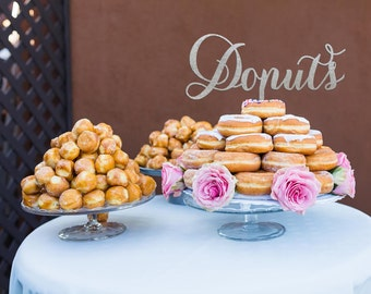 Donut Wedding Cake,Donut Dessert Table, Donut Bridal Shower Cake, Donut Engagement Cake, Donut Cake Display, Donut Wedding Dessert,Donut Bar