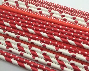 25pc Paper Straws #10
