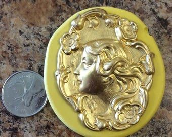 Women Face Mold silicone