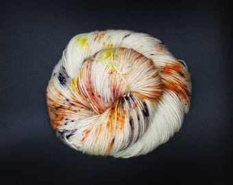 Don't Play Koi, Fish {Freckle Dyed Yarn} - Sock Weight Yarn - Hand Dyed Yarn - Multiple Bases Available - Indie Dyed Yarn