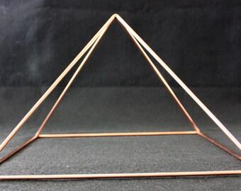 11 inch Solid Copper Pyramid