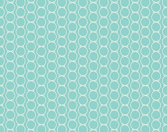 Riley Blake Lulabelle Bowtie Mint fabric