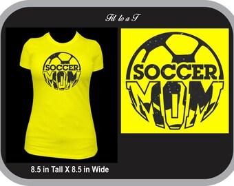 Soccer Mom Glitter T-Shirt