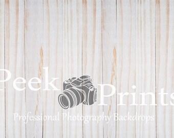 3ft x 2ft Serene Light Wood Backdrop Vinyl Photography Backdrop- Wood Floor Drop