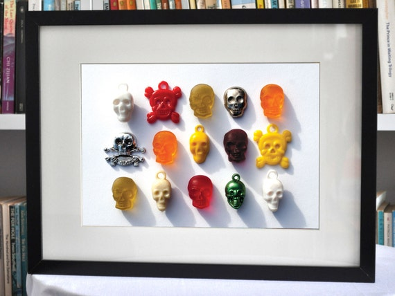 """Limited Edition - """"Skulls"""" - Digital Print With Mount"""