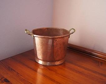 Vintage Copper Planter.