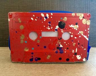 Casset Purse - Handmade / Recycled