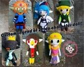 Custom Legend of Zelda Plush Doll