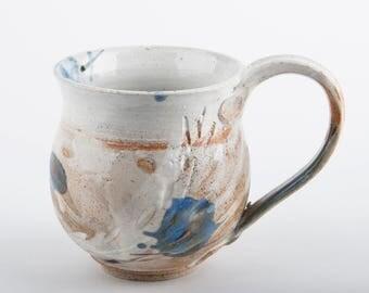 COFFEE or tea - stoneware-coffee tea Stoneware mug - Ref M001 gold