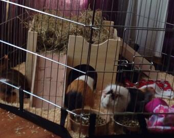 Corner Guinea pig castle