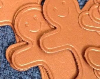 Set of 10 Gingerbread Men Die Cuts