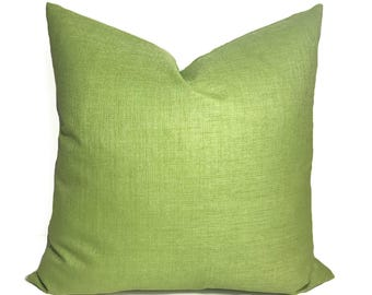 Green pillow, Outdoor pillow cover, Outdoor throw pillow, Outdoor decorative pillow, Outdoor accent pillow, Outdoor cushion, 18x18, 20x20