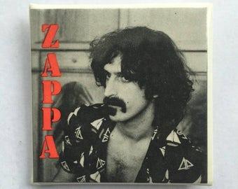 Frank Zappa Original NOS Vintage 80s PIn