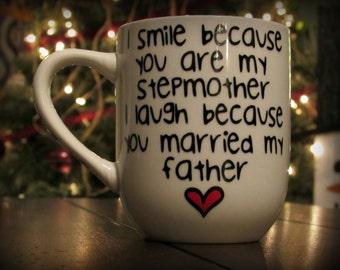 Stepmom, Stepmother, Stepmom Gifts, Gifts for Stepmoms, Stepmom Coffee Mug, Stepmom Christmas Gift, Personalized Stepmom Mug
