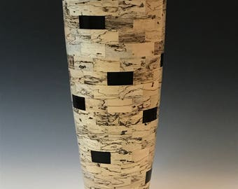 Vase, Woodturning, Segmented Woodturning, Wood