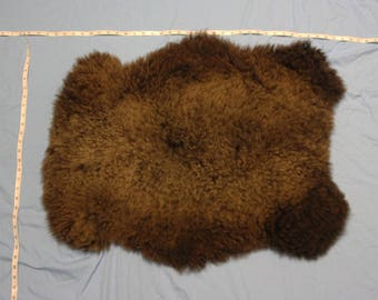 Real Sheep Hide! Chocolate color!