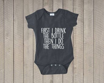 Funny Baby Bodysuit, Funny Baby Clothes, Baby Boy, Baby Girl, Baby Shower Gift, baby bodysuit