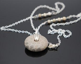 Fossil Jasper Necklace