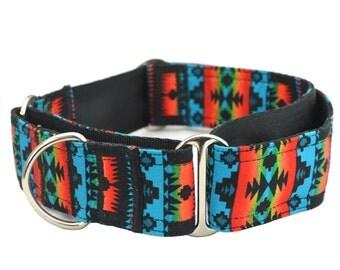 Martingale Collars,Greyhound,1.5 inch,2 inch Martingale Collar,Navajo Tribal