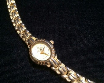 22K Gold Plated Hor Dies Retro Watch, Swiss Movt, Collectors Watch