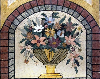 Floral Outdoor Mosaic